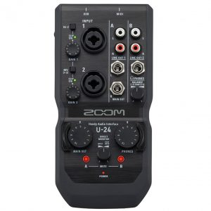 sound card Zoom U-24